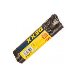 Мешки для мусора DEXX, черные 60л, 20шт / 39150-60